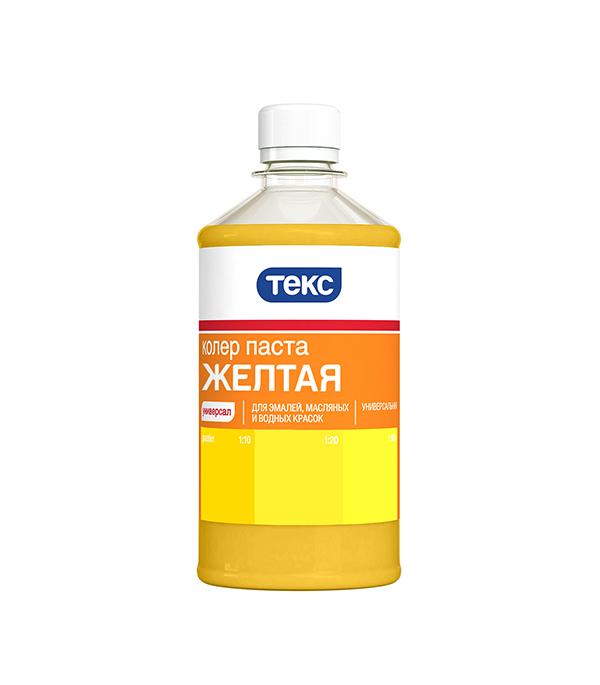 Колер паста универсальная желтая №3 Текс 0,5 л