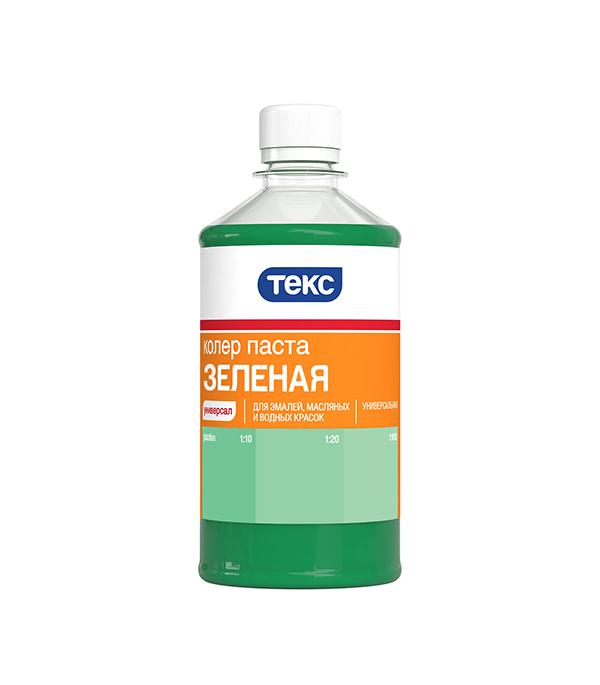 Колер паста универсальная зеленая №14 Текс 0,5 л