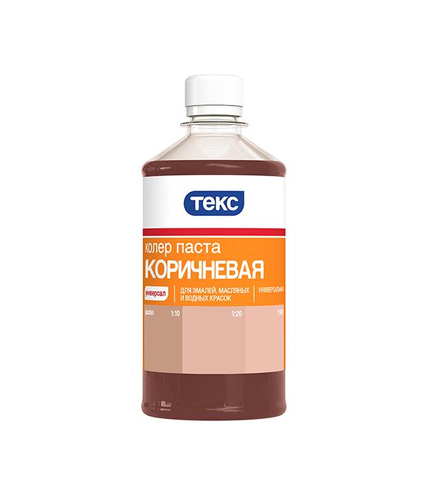 Колер паста универсальная коричневая №13 Текс 0,5 л