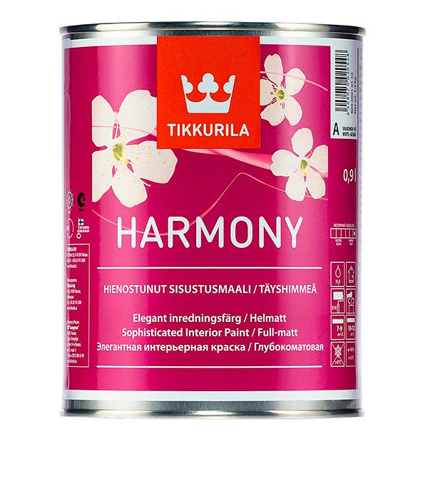 Краска в/д Tikkurila Harmony основа С совершенно матовая 0.9 л краска в д tikkurila harmony гармония интерьерная база с 2 7л