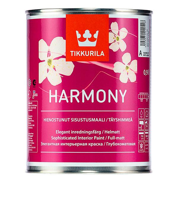 Краска в/д Tikkurila Harmony основа A совершенно матовая 0.9 л