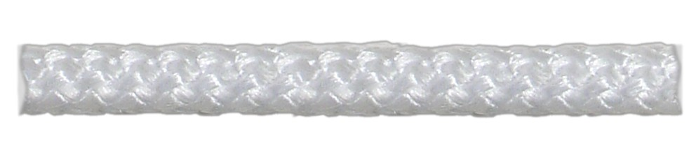 Шнур плетеный белый d5 мм полипропиленовый (15 м)