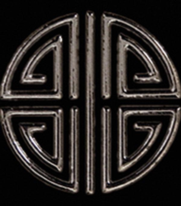 Керамогранит декор 60х60х10,5 мм Токио черный/Керамика Будущего