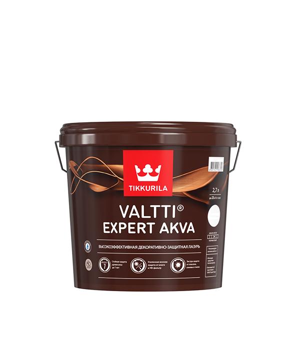 Антисептик Valtti Expert Akva палисандр Тиккурила 2,7 л лак для обработки сучков oksalakka тиккурила 0 33 л