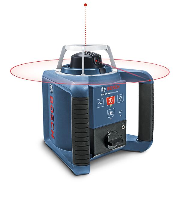 Лазерный нивелир Bosch GRL 300 HV Set ротационный нивелир bosch grl 250 hv prof 0601061600