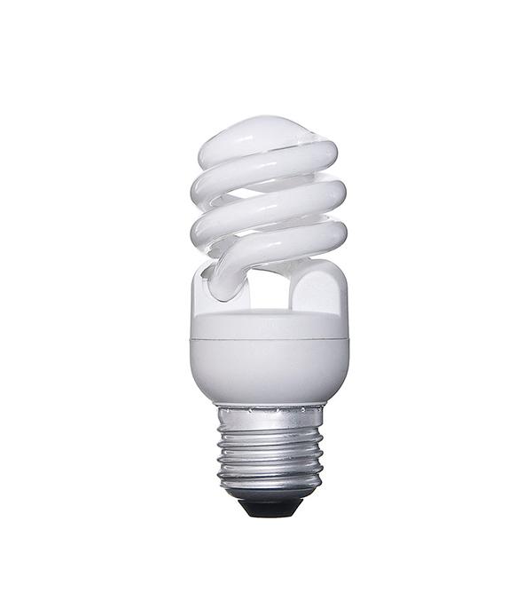 Лампа энергосберегающая E27, 12W, MiniTwist, 4000К (холодный свет), Osram