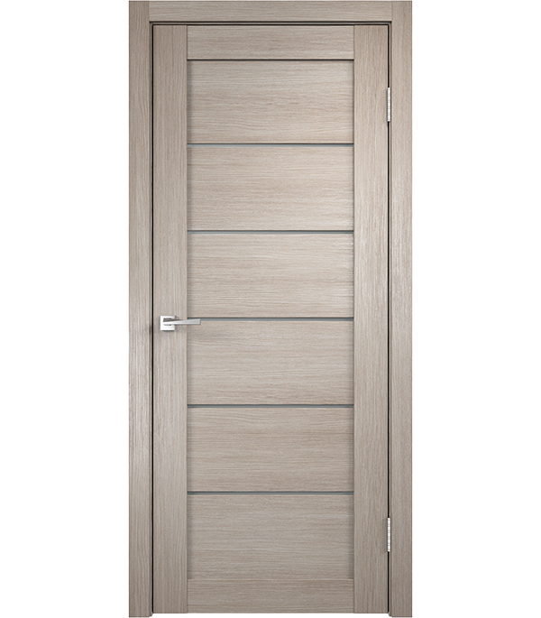 Дверное полотно экошпон VISION Капучино, 900х2000мм, без притвора КПП