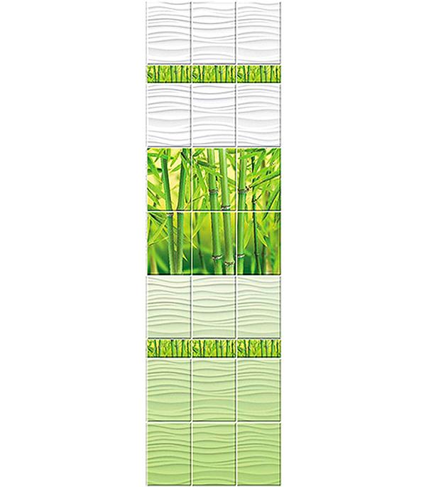Панель Blossom Бамбук узор 250х2700х8 мм, Центурион