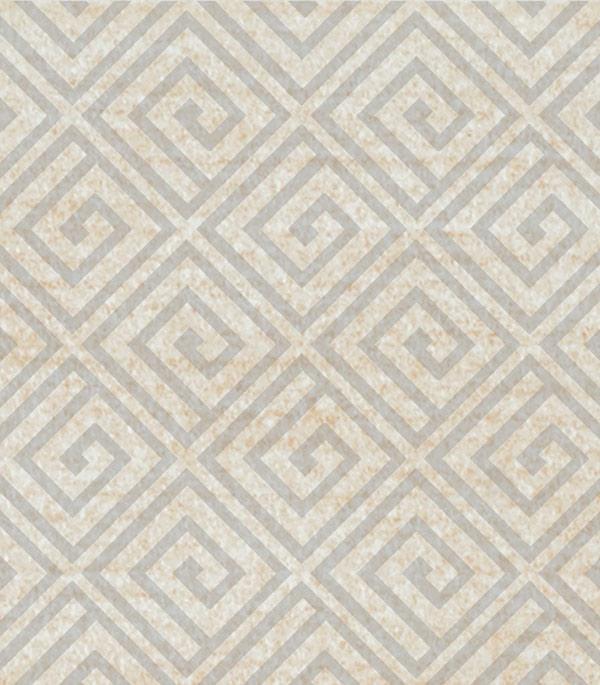 Керамогранит декор 70х70х9 мм Linen светло-бежевый/Грасаро