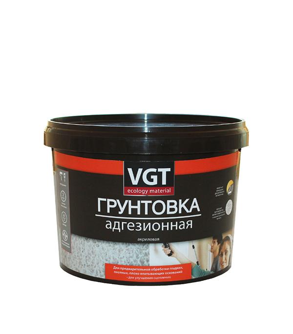Грунт адгезионный для декоративных и фактурных красок VGT 8 кг
