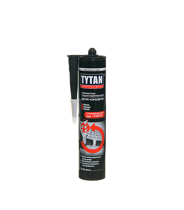 Герметик кровельный Tytan Professional 310 мл прозрачный черкасская область смела кровельный материал