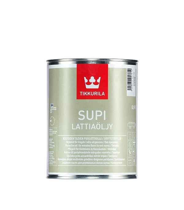 Состав защитный (масло) для пола Supi Тиккурила 0,9 л
