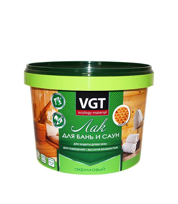 Лак акриловый для бань и саун VGT 2,2 кг огнеупорная плита для саун и бань