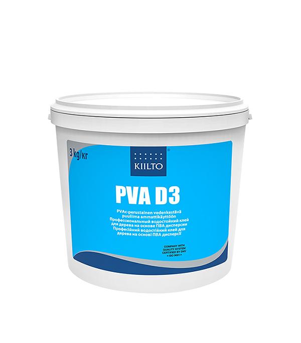Клей ПВА Kiilto D3 3 кг  цена и фото