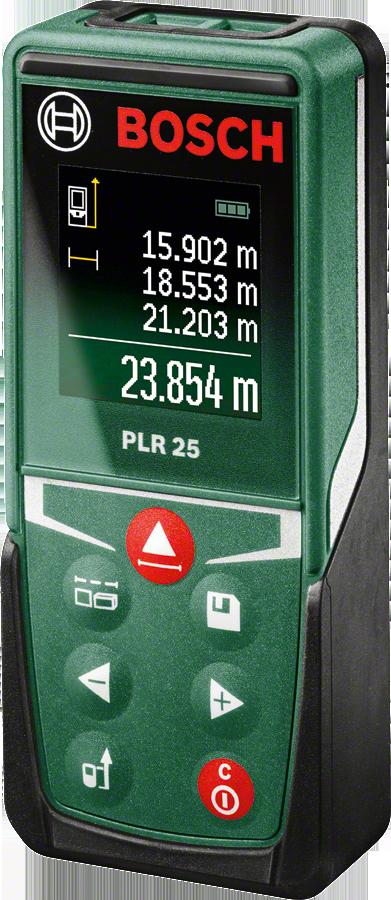 Дальномер лазерный 25 м, PLR 25 NEW Bosch