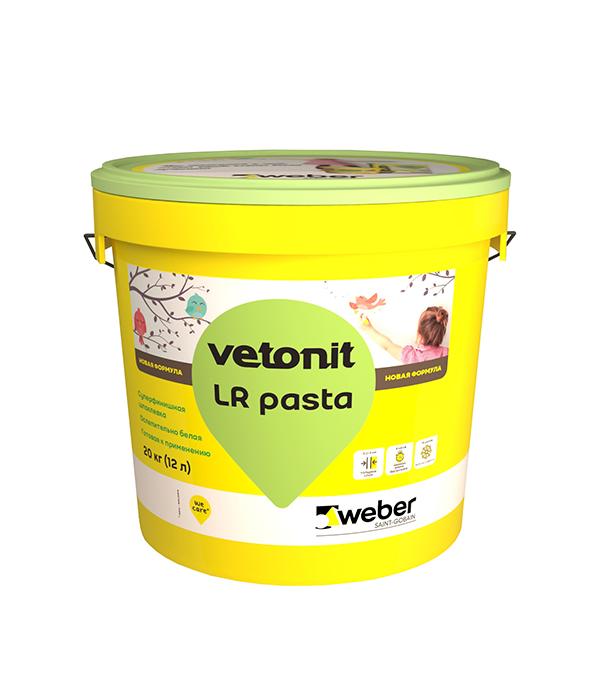 Шпаклевка финишная weber.vetonit LR Pasta 12 л/20 кг щебень фракция 20 40 мм 50 кг