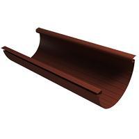 Желоб водосточный пластиковый  4м коричневый (кофе) VINYL-ON