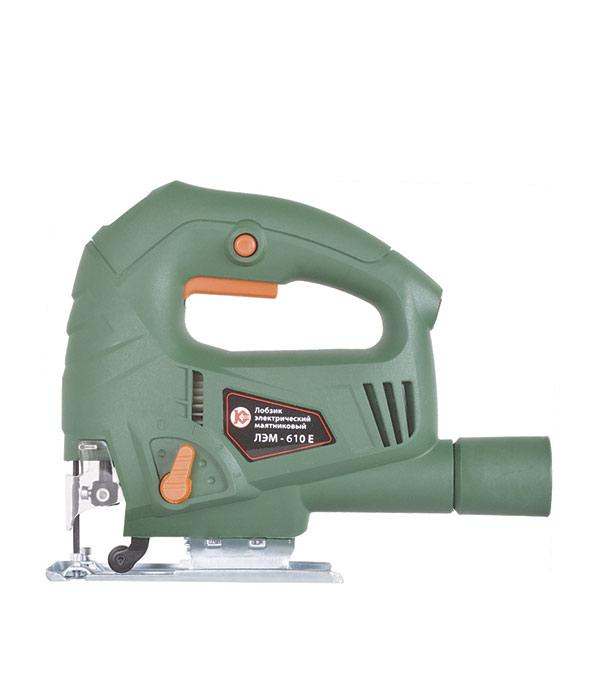 Лобзик Калибр ЛЭМ-610Е пилки для лобзика по ламинату для прямых пропилов практика t101aif 3 30 мм 2 шт