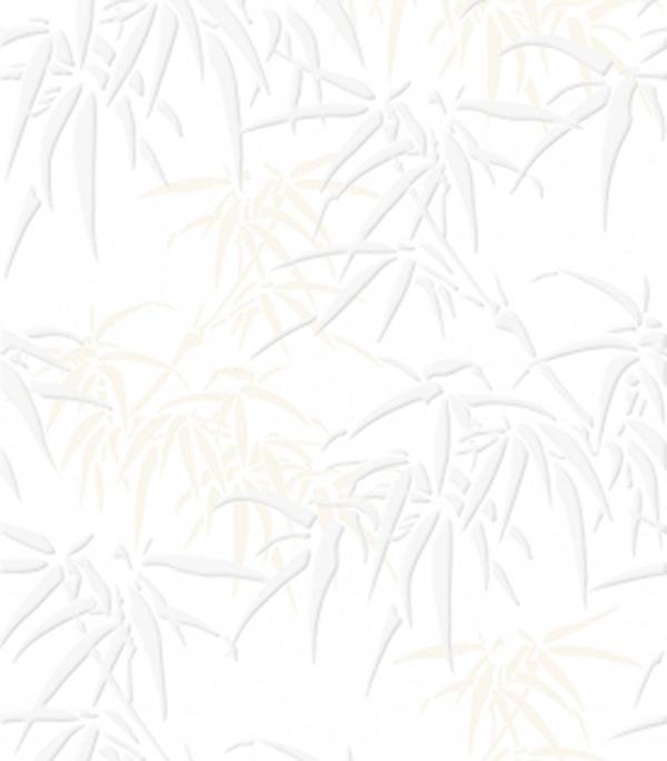 Плитка облицовочная 250x350х7 мм Джунгли белый (16шт=1,4 кв.м)