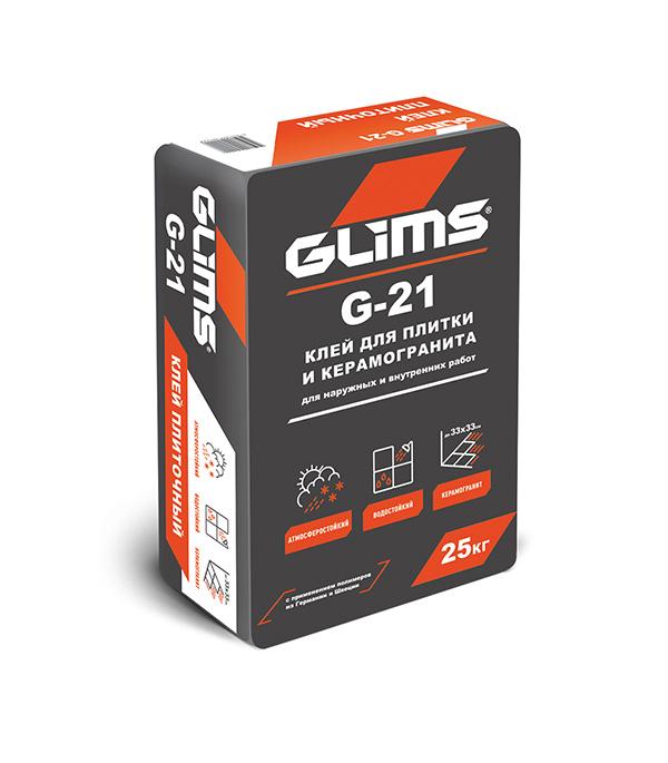 Клей для плитки GLIMS G-21 25кг щебень фракция 20 40 мм 50 кг