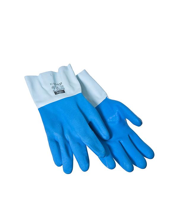 Перчатки латексные для укладки плитки, краги KWB Профи
