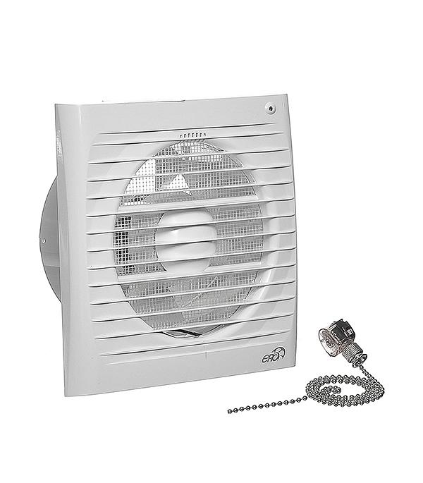Вентилятор осевой Era 4S-02 с шнурковым выключателем d100 мм вентилятор осевой d100 мм era 4s