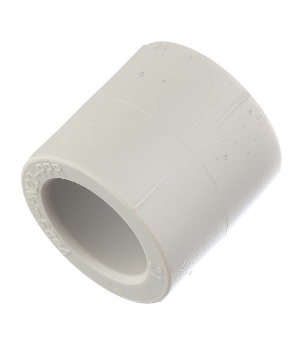 Муфта полипропиленовая 25 мм FV-PLAST серая  муфта полипропилен 25