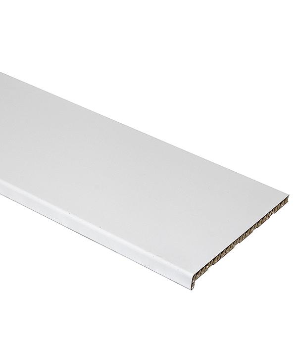 Подоконник пластиковый Dekowin 400x3000 белый глянец