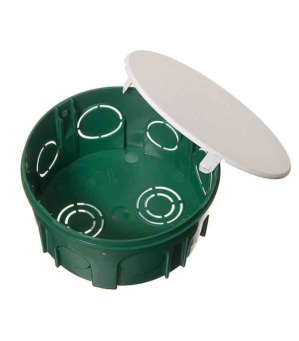 Коробка в бетон с/у разветвительная круглая с крышкой, d=100 мм, h=50 мм, Schneider Electric