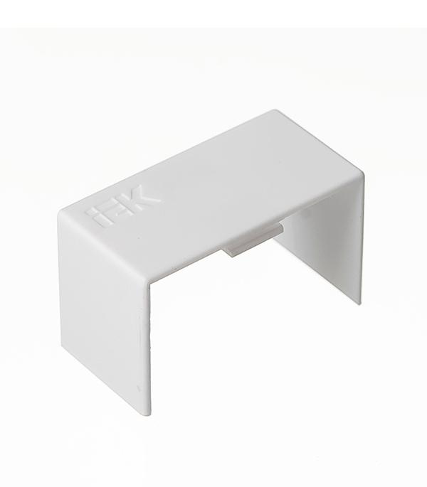Соединение на стык кабель-канала 40x25 мм белое (4 шт.)