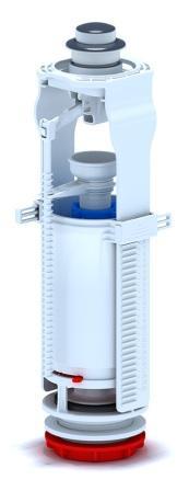 Сливной механизм для унитаза кнопочный ANI-WC7010