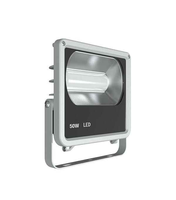 Прожектор cветодиодный  50 Вт, 6500K (холодный свет), ЭРА led прожектор эра ip65 50w 230v холодный свет