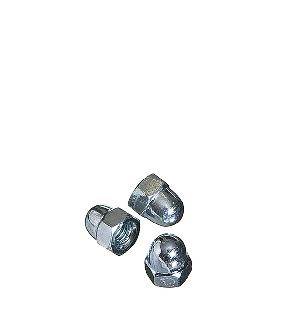 Гайки колпачковые  М6 мм DIN 1587 (3 шт)