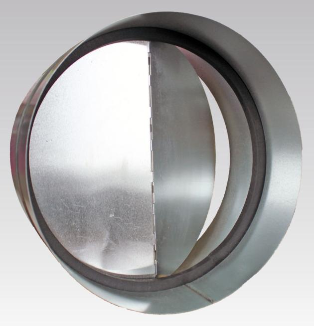 Клапан обратный d125 мм стальной Эра
