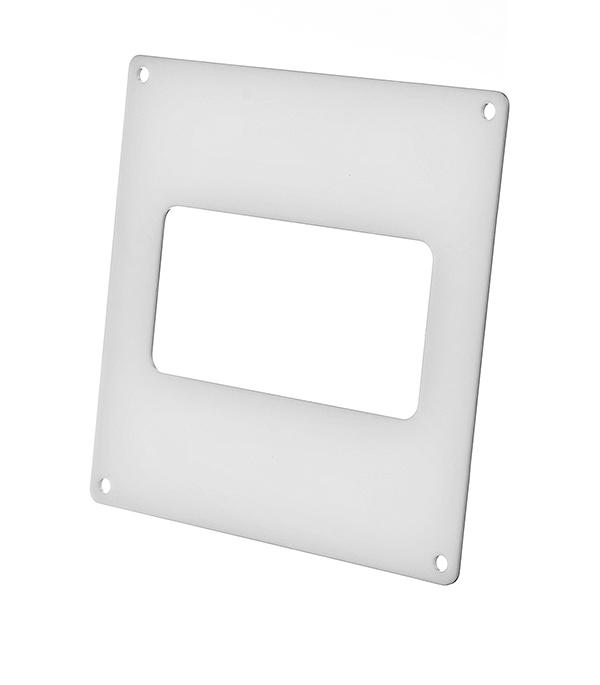 Накладка настенная для плоских воздуховодов пластиковая 55х110 мм