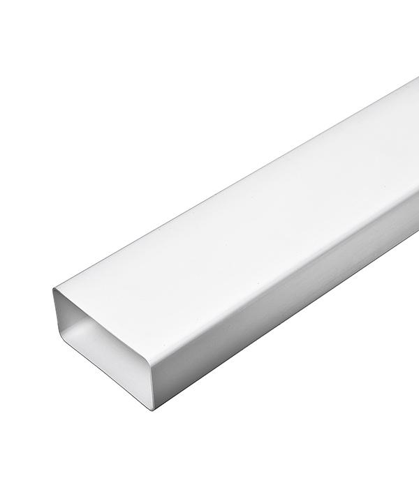 Воздуховод плоский пластиковый 55х110х1000 мм