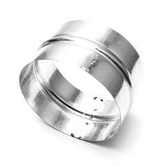 Соединитель для круглых воздуховодов оцинкованный d150 мм