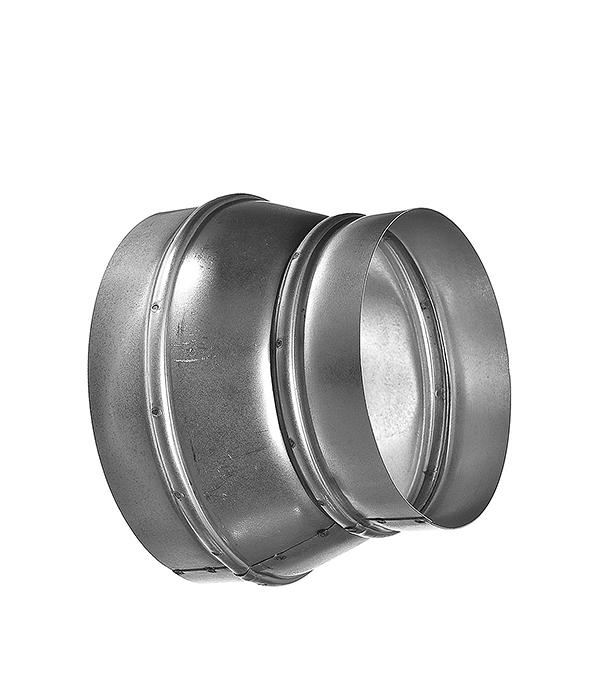 Переход оцинкованный с круглых воздуховодов d125 мм на круглые d100 мм тройник для круглых воздуховодов оцинкованный d125 мм 90°
