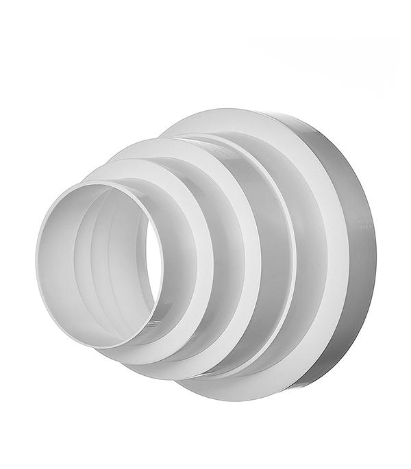 Редуктор универсальный пластиковый для круглых воздуховодов 80/100/120/125/150 мм