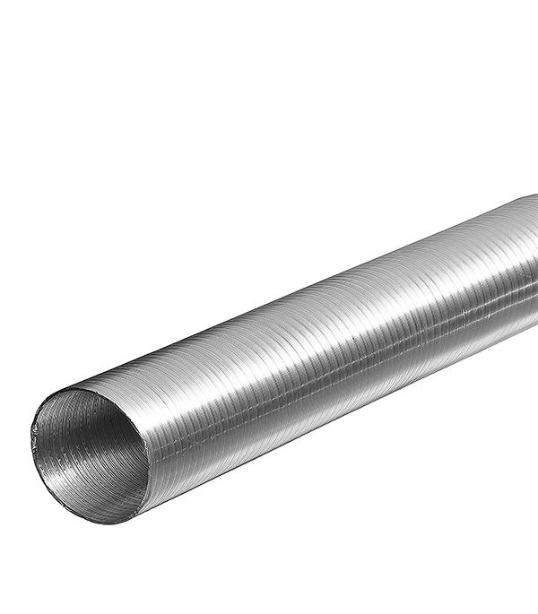 Воздуховод гибкий алюминиевый гофрированный d120 мм х 3 м Алювент Стандарт