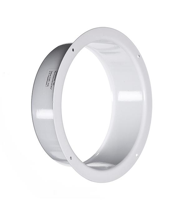Фланец для круглых воздуховодов стальной белый d150 мм