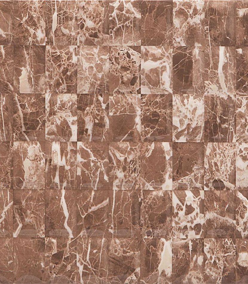 Плитка облицовочная 280х400х8 мм Мэдисон коричневый рельеф (11шт=1,232 кв.м.)