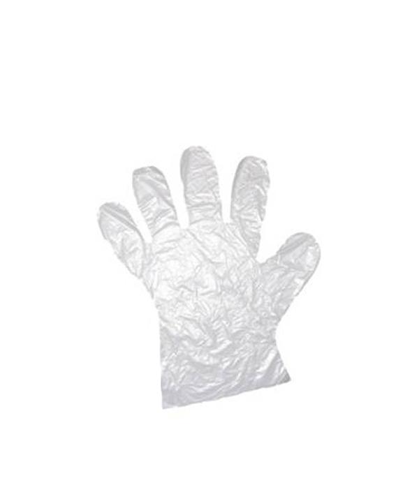 Перчатки полиэтиленовые одноразовые, упаковка 100 пар Эконом