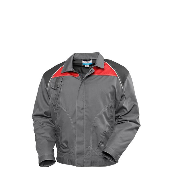 Куртка SWG серая размер 52-54 рост 182-188 лыжи беговые tisa top universal с креплением цвет желтый белый черный рост 182 см
