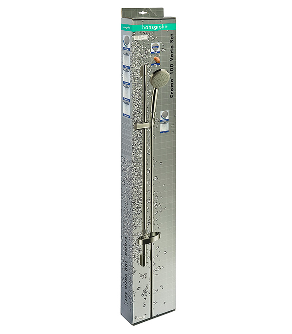 Душевой гарнитур Hansgrohe Croma 100 Vario 900 мм