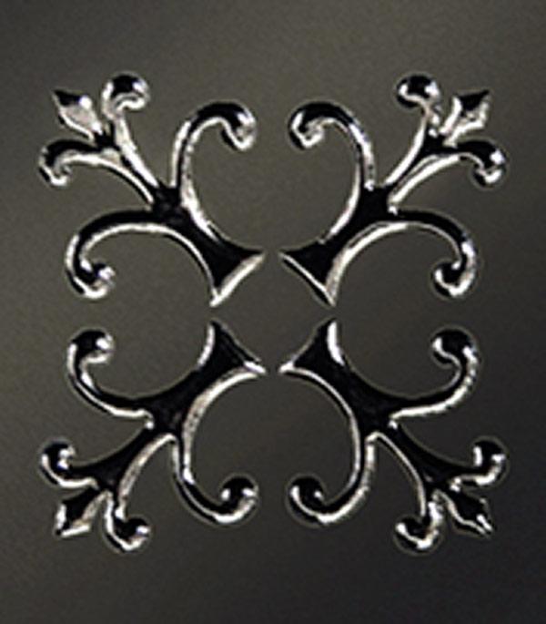 Керамогранит декор 60х60х10,5 мм Тулуза черный/Керамика Будущего