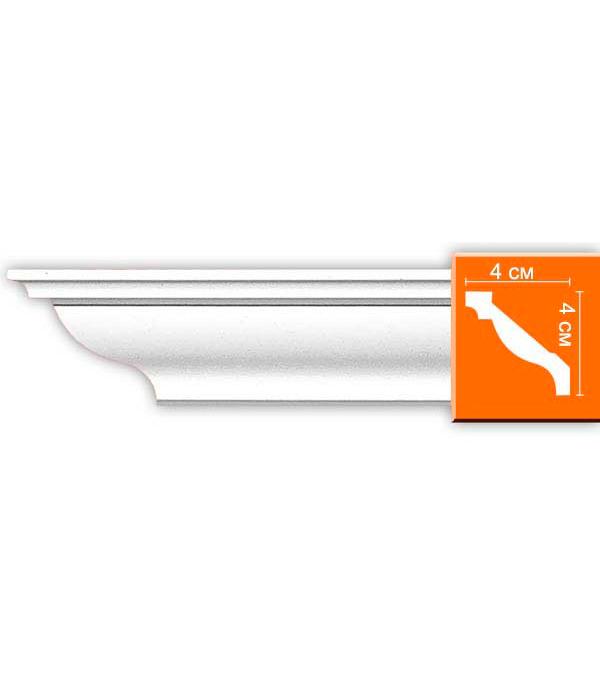 Плинтус из полиуретана Decomaster 40х40х2400 мм decomaster багет decomaster 808 552 размер 61х26х2900мм