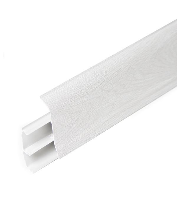 Плинтус с к/к Дуб серый 67х22х2500 мм
