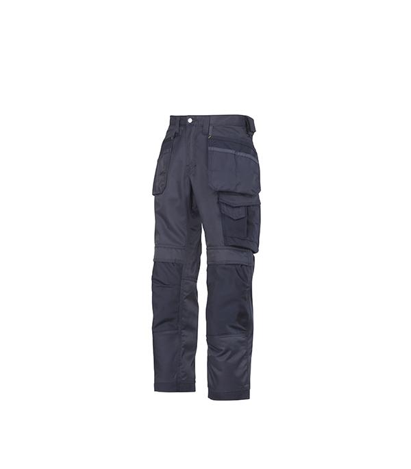 Брюки синие, размер 46, рост 170-182 Snickers workwear Профи
