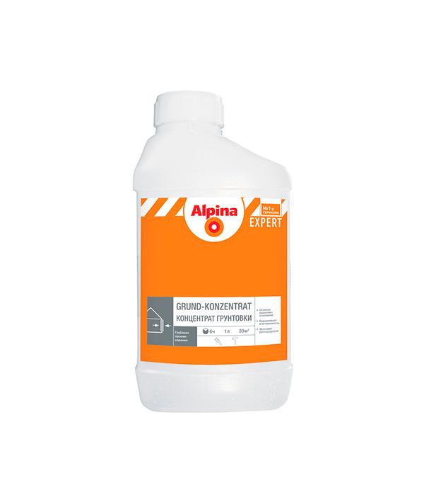 Грунт концентрат Alpina Expert 1 л масло для террас alpina oel fuer terrassen 0 75 л